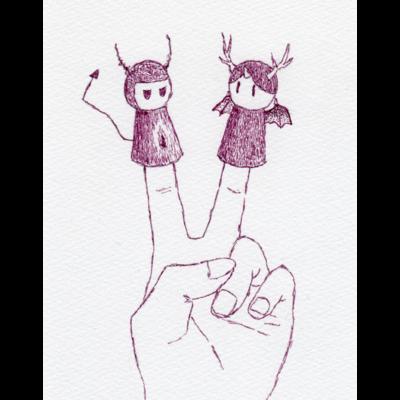 悪魔と悪魔