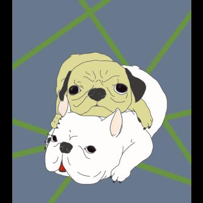 二重猛犬法