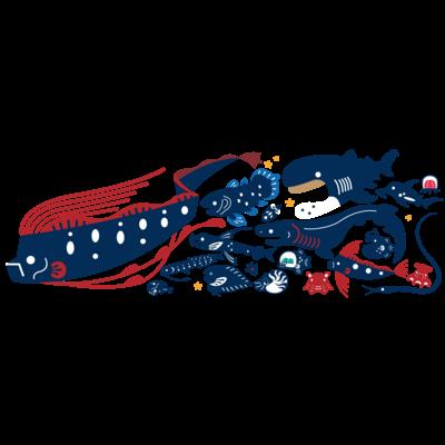 深海生物たち