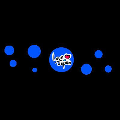 Love Japan水玉バージョン