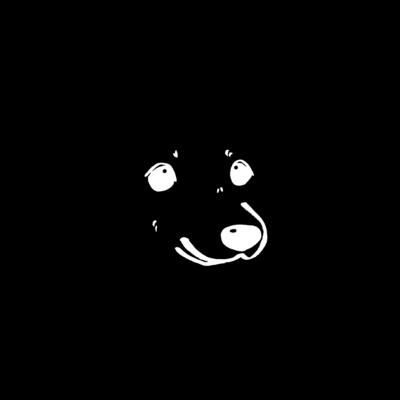 白黒わんこ ペアグッズ
