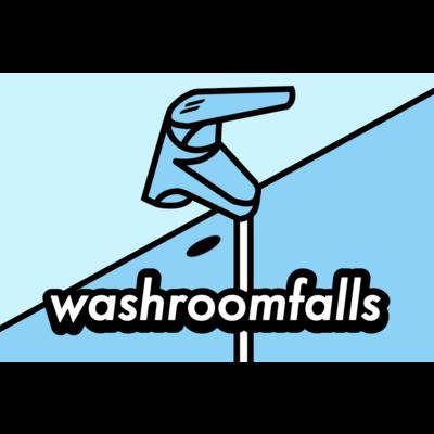 洗面所の滝