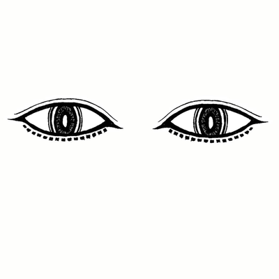 お眼々series