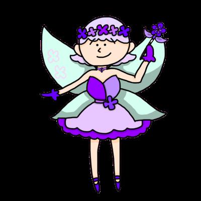 お花の妖精ちゃん