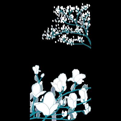 花咲くクリアマルチケース