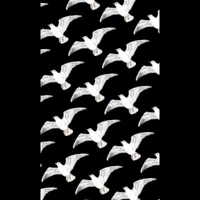 空飛ぶカモメ