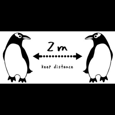 ジェンツーペンギン好きのためのソーシャルディスタンスアイテム
