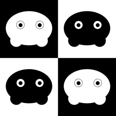 モノクロちゃんシリーズ