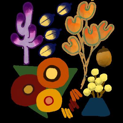 植物も思い出