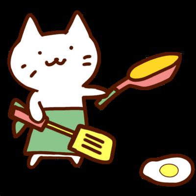じろにゃん趣味は料理
