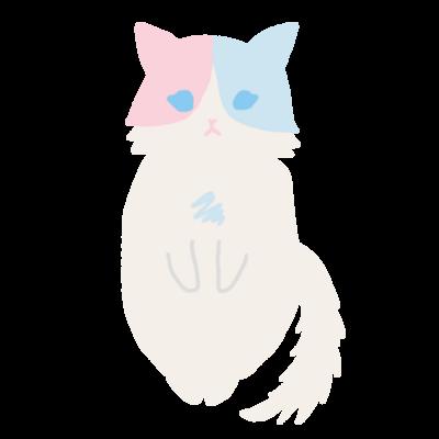 おすまし猫(1)