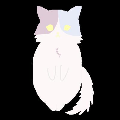 おすまし猫(2)
