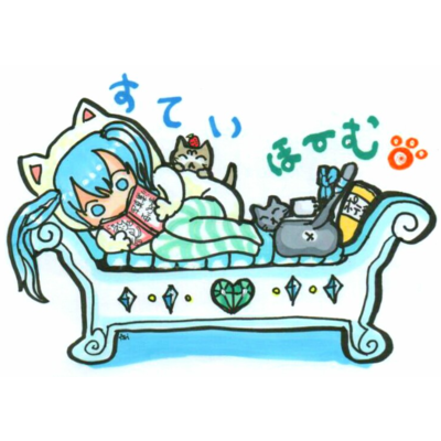 STAY HOME💙mikuと愛猫 Stay home♪