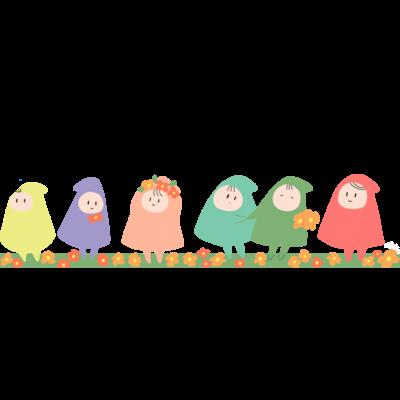 幸せの小人さんたちシリーズ