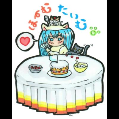 おうち時間💙mikuと愛猫 Home time♪
