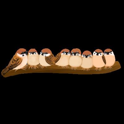 ぎゅうっとsparrowず