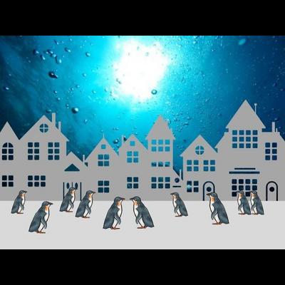 ペンギンたちの街