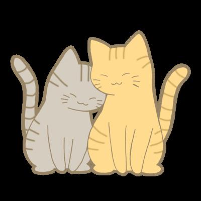 仲良し猫シリーズ 正面