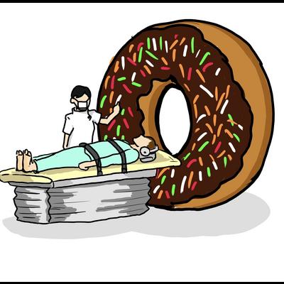 MRI×食べ物シリーズ