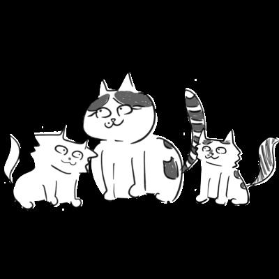 猫遊亭一門