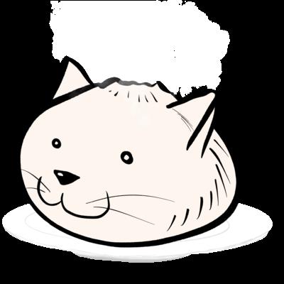 肉まんネコさん