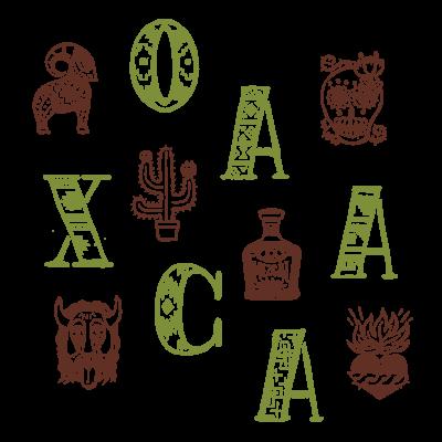 世界のまち - メキシコ、オアハカ