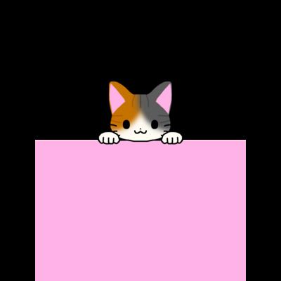 ひょっこり猫シリーズ