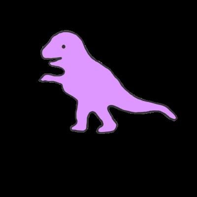 ティラノサウルスくん
