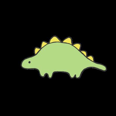 ステゴザウルスくん