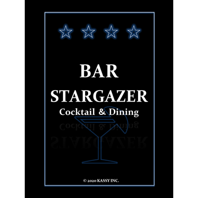 【BAR STARGAZER】オリジナルグッズ