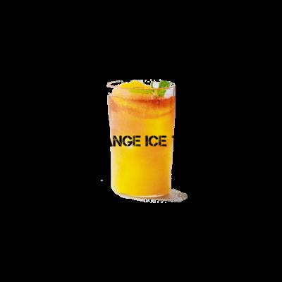 オレンジアイスティー