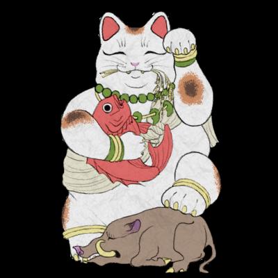 招き猫シリーズ
