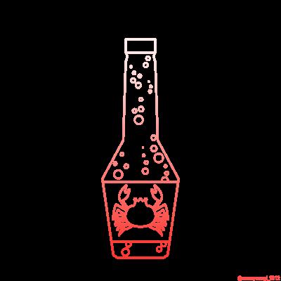蟹サイダー