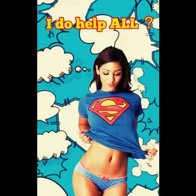 やる気のないスーパーウーマン