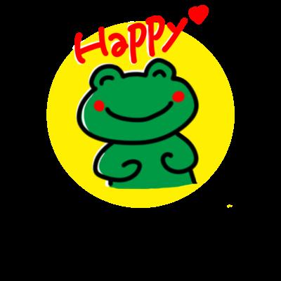 Happyかえるくん シリーズ