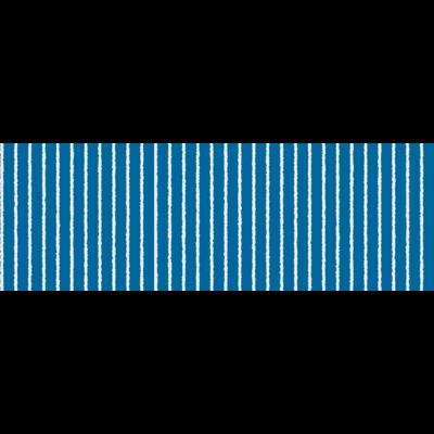青と白の縦縞