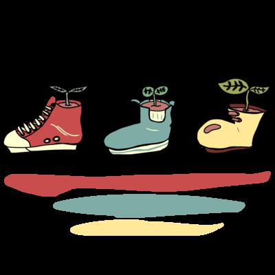 靴のプランター