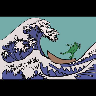 井の中の蛙、大海を知った