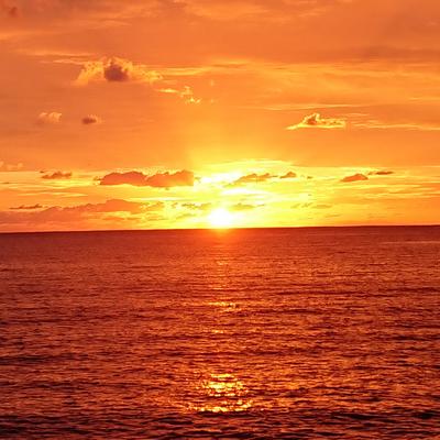 Sunrise/Moon rising