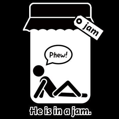 おもしろ英語表現(be in a jam)