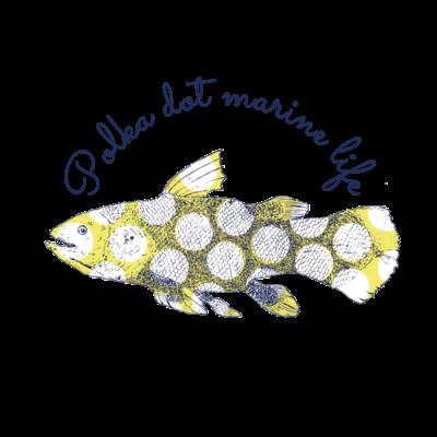 水玉海洋生物 シーラカンス