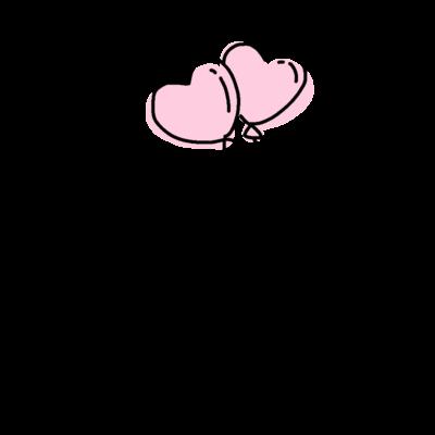 ちびうぱと風船(color)