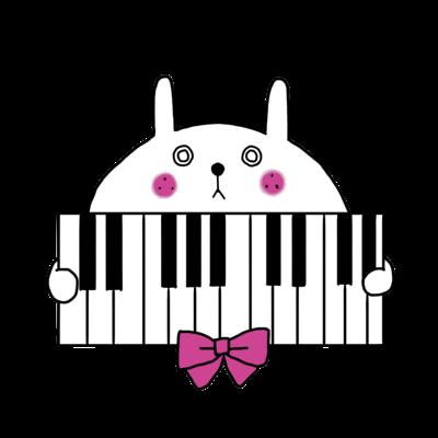 うさピアノ