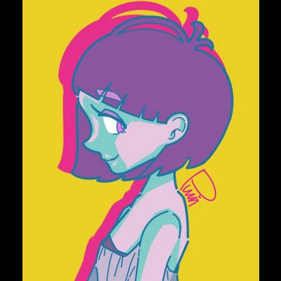 エモモ!!横顔の女の子