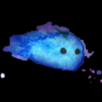 青いほしあめちゃん