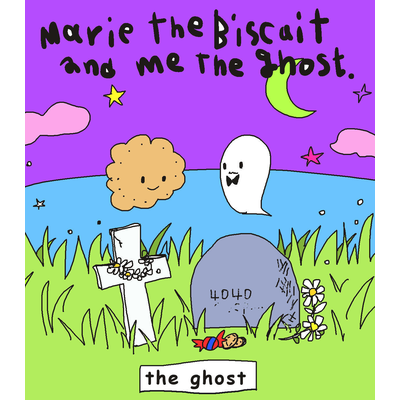 Marie the biscuit and me the Ghost.