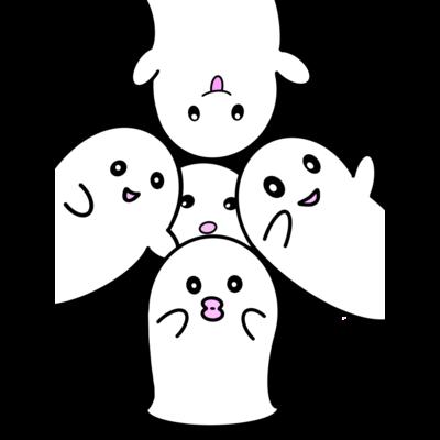 Obake chan フルグラフィックスTシャツ