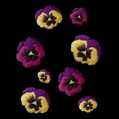 お花畑(パンジー)
