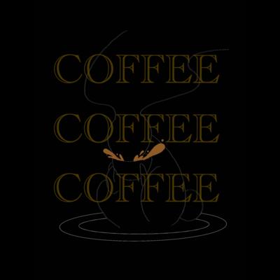 くろうさぎのコーヒーブレイク