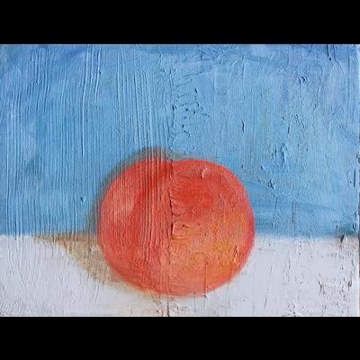 静物画:桃